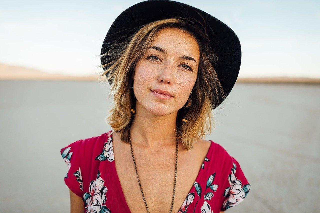beautiful European woman