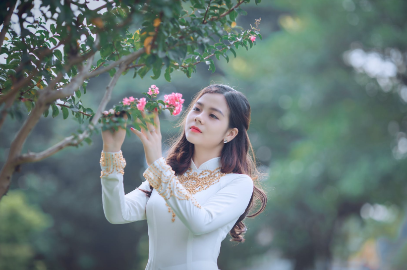 tender Vietnamese girl